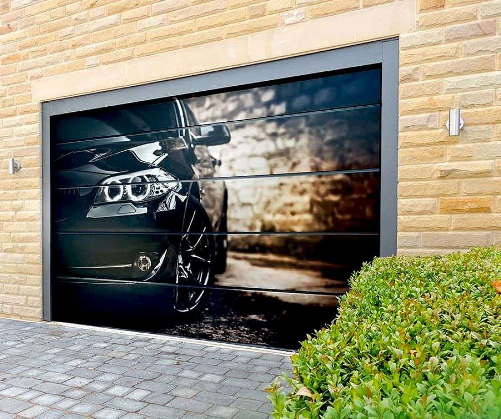 варнава сменила фотопечать на гаражных воротах оказали первую